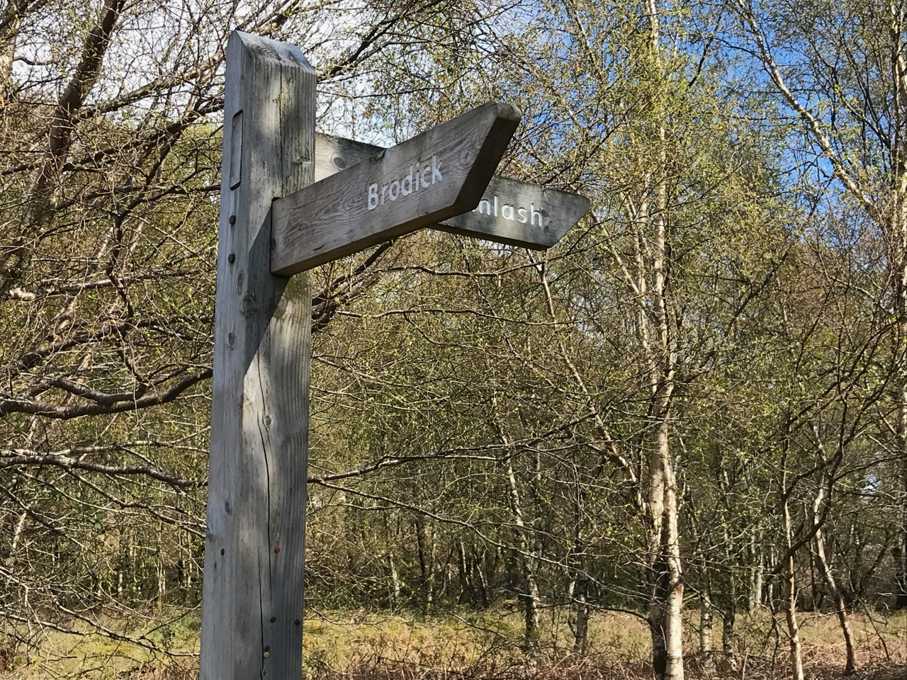 Footpaths to Lamlash & Brodick