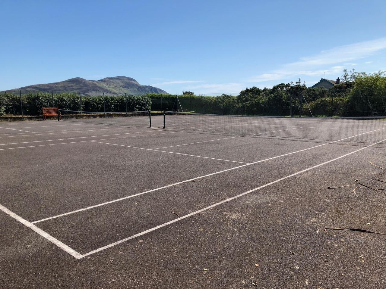 Lamlash Tennis Courts