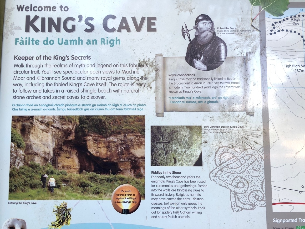 King's Cave Trail