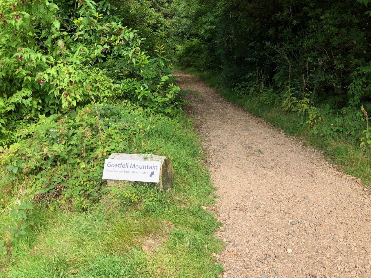 Goat Fell Path